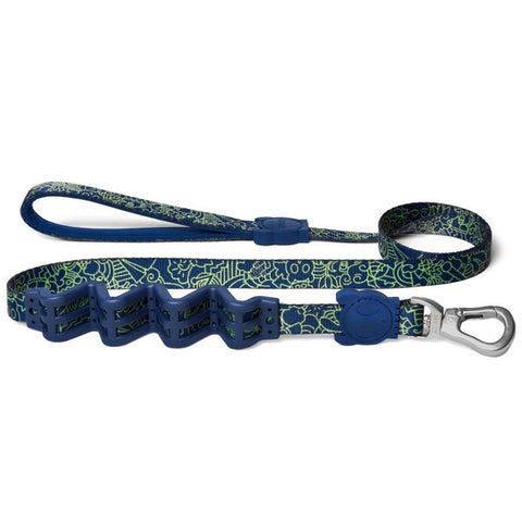 Zee.Dog Spooky RUFF Shock Absorbent Dog Leash - Small - Kohepets