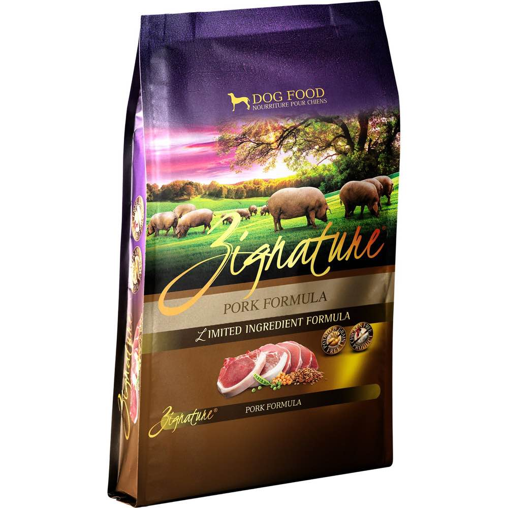 Zignature Pork Grain Free Dry Dog Food Kohepets