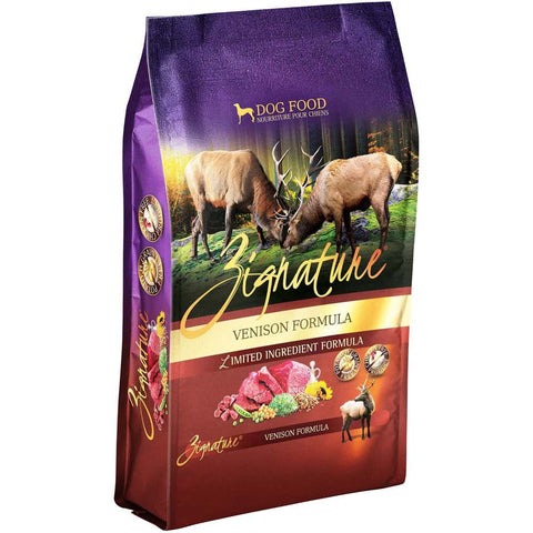 Zignature Venison Grain Free Dry Dog Food
