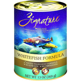 20% OFF: Zignature Whitefish Grain Free Canned Dog Food 369g