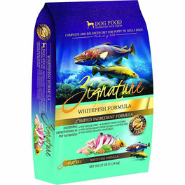 Zignature Whitefish Grain Free Dry Dog Food