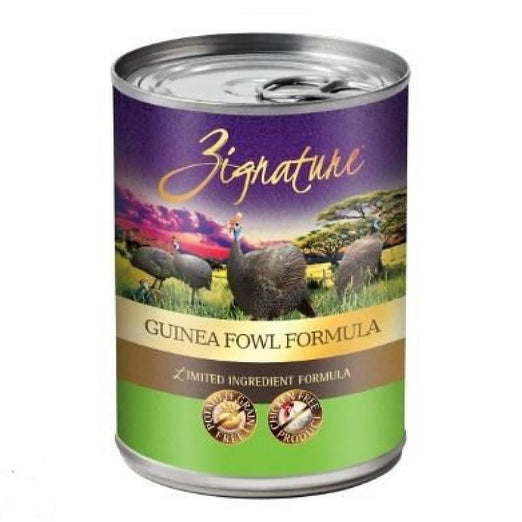 Zignature Guinea Fowl Grain Free Canned Dog Food 369g