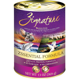 20% OFF: Zignature Zssential Grain Free Canned Dog Food 369g