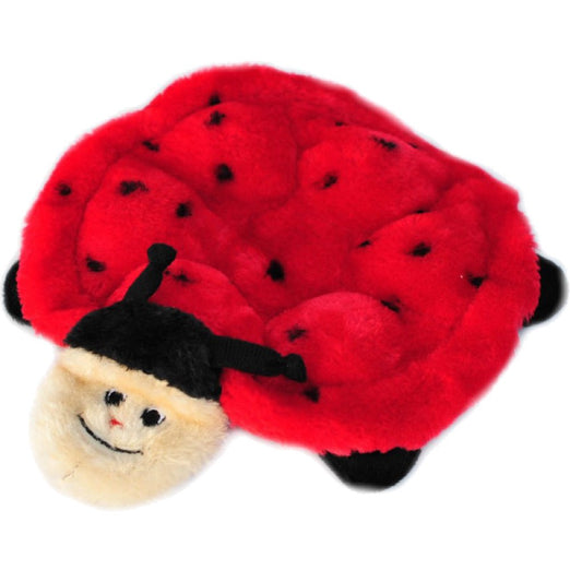 ZippyPaws Squeakie Crawler Betsey the Ladybug Dog Toy - Kohepets