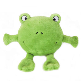 ZippyPaws Brainey Frog Dog Toy