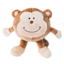ZippyPaws Brainey Monkey Dog Toy