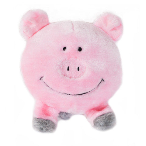 ZippyPaws Brainey Pig Dog Toy - Kohepets