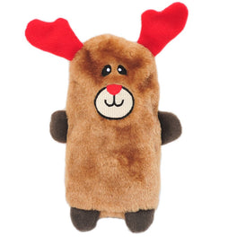 ZippyPaws Christmas Large Buddies Reindeer Dog Toy