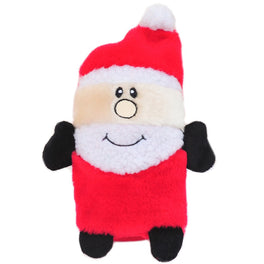 ZippyPaws Christmas Large Buddies Santa Dog Toy