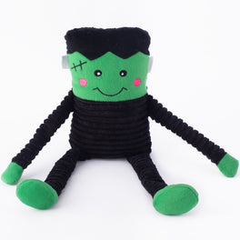 ZippyPaws Crinkle Frankenstein's Monster Dog Toy