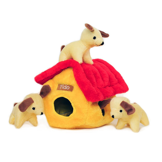 ZippyPaws Burrow XL Dog House Dog Toy - Kohepets