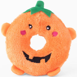 ZippyPaws Donutz Buddie Pumpkin Dog Toy
