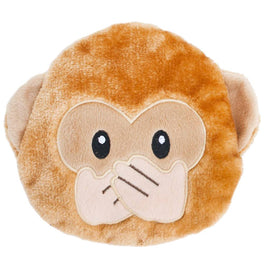 ZippyPaws Emojiz Monkey Dog Toy