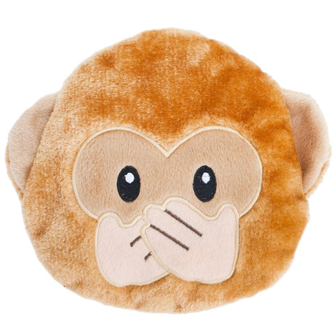 ZippyPaws Emojiz Monkey Dog Toy - Kohepets