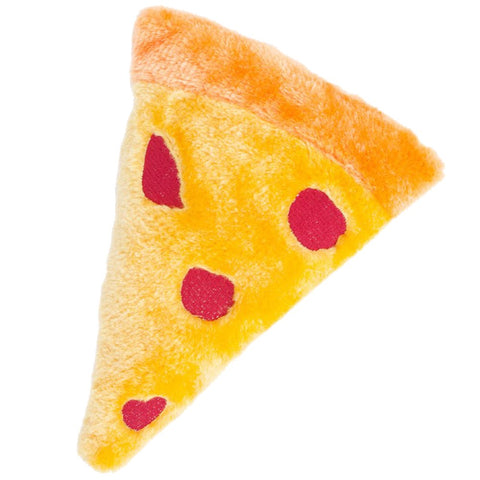 ZippyPaws Emojiz Pizza Dog Toy - Kohepets