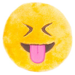 ZippyPaws Emojiz Tongue Out Dog Toy