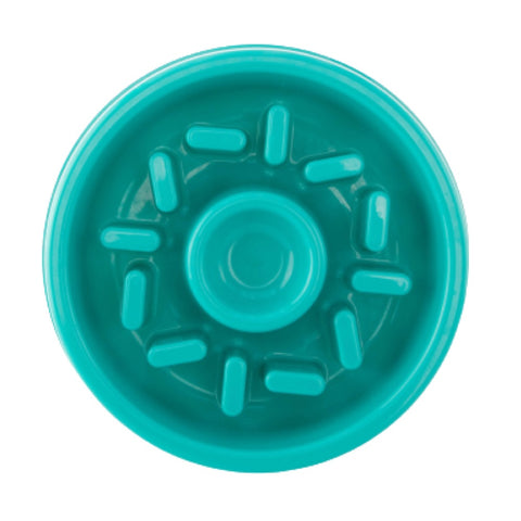 ZippyPaws Happy Bowl Donut Feed Bowl Dog Toy - Kohepets