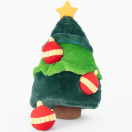 ZippyPaws Holiday Zippy Burrow Christmas Tree Dog Toy