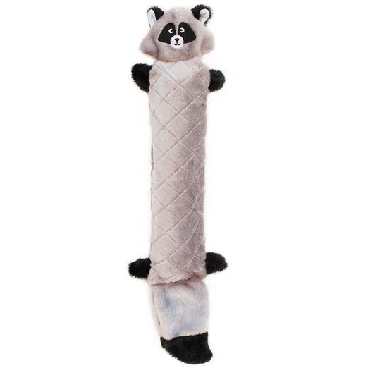 ZippyPaws Jigglerz Raccoon Dog Toy