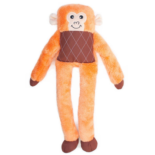 ZippyPaws Lanky Monkey Dog Toy - Kohepets