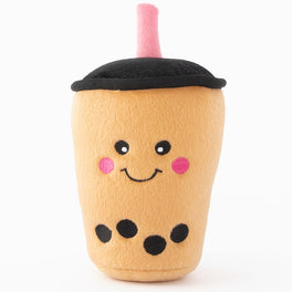 Zippypaws NomNomz Boba Milk Tea Plush Dog Toy