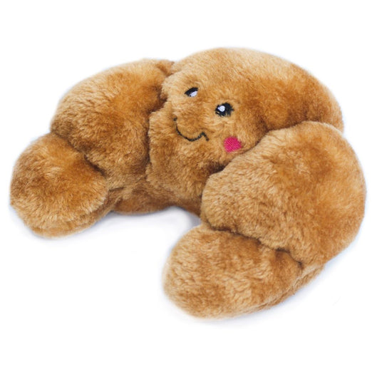 ZippyPaws NomNomz Croissant Plush Dog Toy