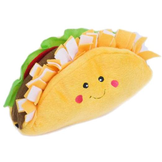 ZippyPaws NomNomz Taco Plush Dog Toy