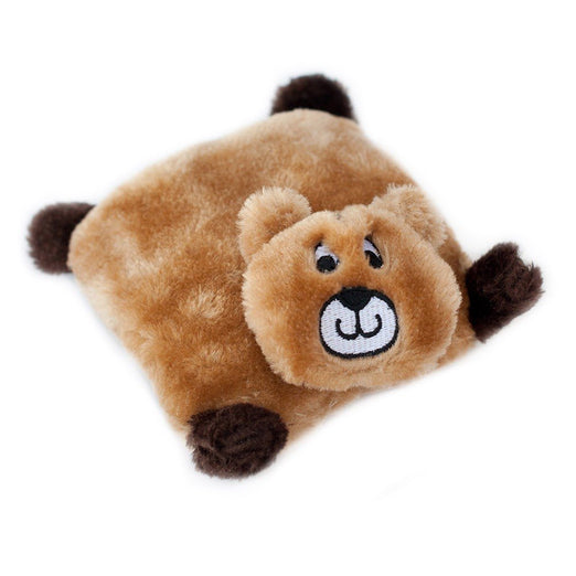 ZippyPaws Squeakie Pad Bear Dog Toy - Kohepets