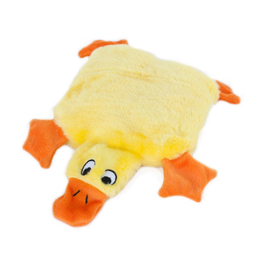 ZippyPaws Squeakie Pad Duck Dog Toy - Kohepets