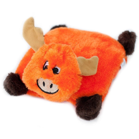 ZippyPaws Squeakie Pad Moose Dog Toy - Kohepets