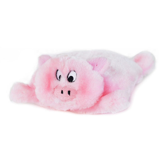 ZippyPaws Squeakie Pad Pig Dog Toy - Kohepets