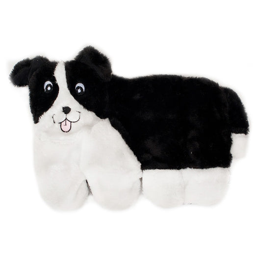 ZippyPaws Squeakie Pup Border Collie Dog Toy - Kohepets