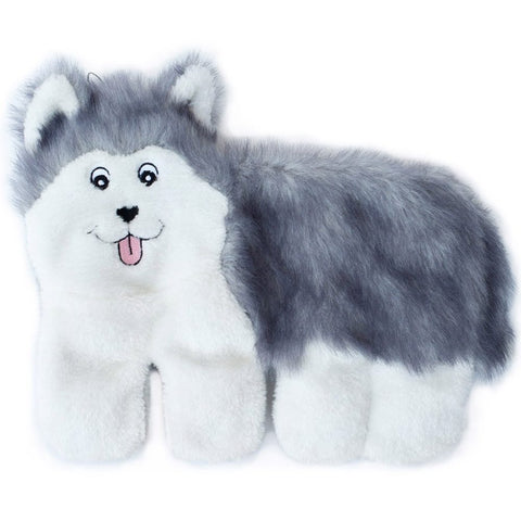 ZippyPaws Squeakie Pup Husky Dog Toy - Kohepets