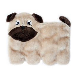 ZippyPaws Squeakie Pup Pug Dog Toy