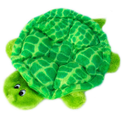 ZippyPaws Squeakie Crawler SlowPoke the Turtle Dog Toy - Kohepets