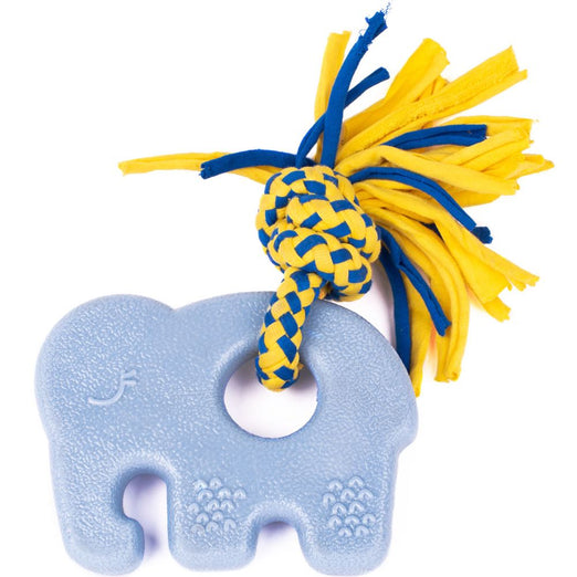 ZippyPaws Teetherz Elliot The Elephant Dog Toy - Kohepets