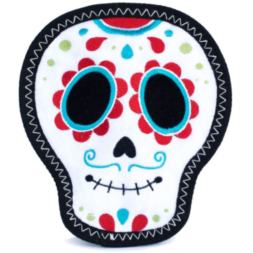 ZippyPaws Z-Stitch Santiago The Sugar Skull Dog Toy - Kohepets