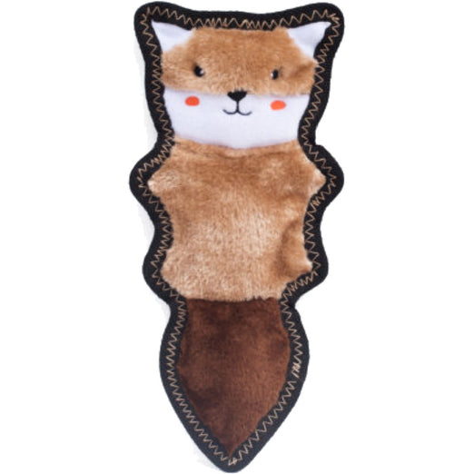 ZippyPaws Z-Stitch Skinny Peltz Chipmunk Dog Toy - Kohepets