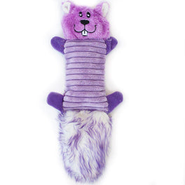 ZippyPaws Zingy Purple Squirrel Dog Toy