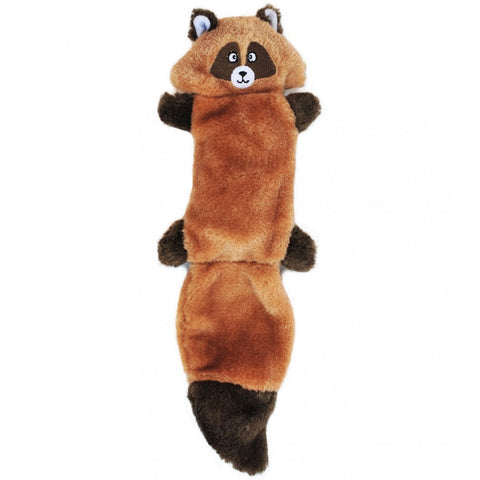 ZippyPaws Zingy Raccoon Dog Toy