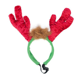 ZippyPaws Holiday LED Antler Headband