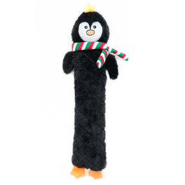 ZippyPaws Christmas Jigglerz Penguin Dog Toy