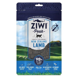 ZiwiPeak Air-Dried Lamb Cat Food 400g