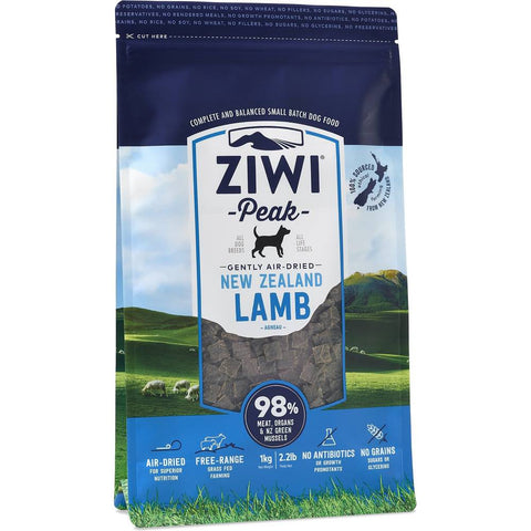 'BUNDLE DEAL': ZiwiPeak Air-Dried Lamb Dog Food