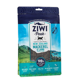 ZiwiPeak Air-Dried Mackerel & Lamb Cat Food 400g