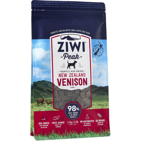 ZiwiPeak Air-Dried Venison Dog Food - Kohepets