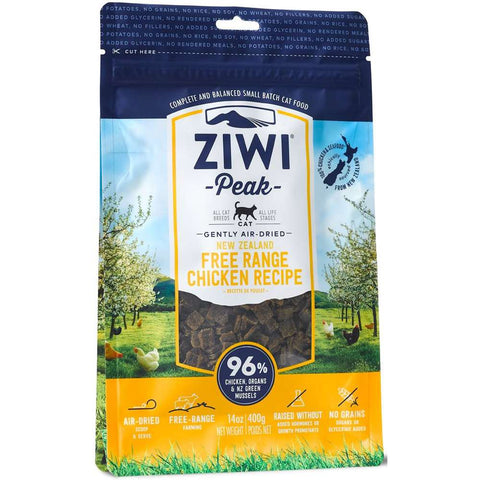 ZiwiPeak New Zealand Free Range Chicken Air Dried Cat Food