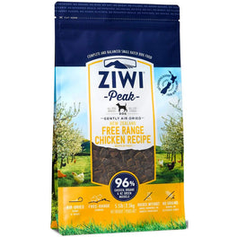 'FREE FOOD' with 4kg & 2.5kg: ZiwiPeak New Zealand Free Range Chicken Air Dried Dog Food