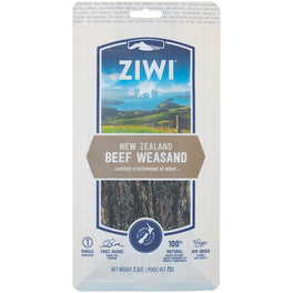ZiwiPeak New Zealand Beef Weasand Dog Chew 72g