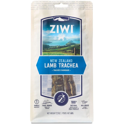 '48% OFF (Exp 3 Dec)': ZiwiPeak New Zealand Lamb Trachea Dog Chew 60g (TILL 30 NOV) - Kohepets